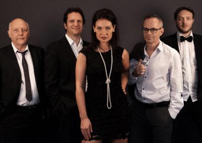 Quintett mit Cinja Pausewang
